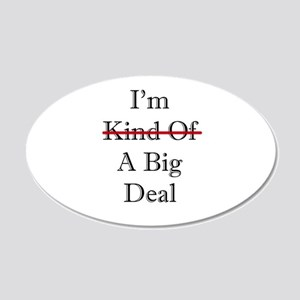 BIG DEAL 20x12 Oval Wall Decal