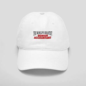 """The World's Greatest Senior Accountant"" Cap"