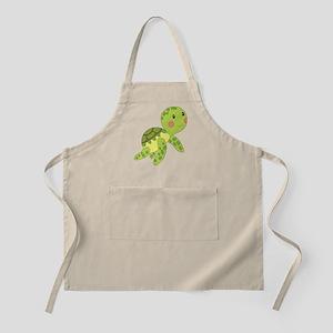 Baby Floating Turtle Apron