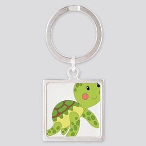 Baby Floating Turtle Keychains