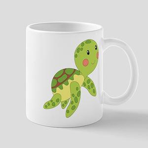 Baby Floating Turtle Mugs