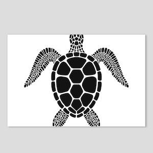 Black Turtle Postcards (Package of 8)