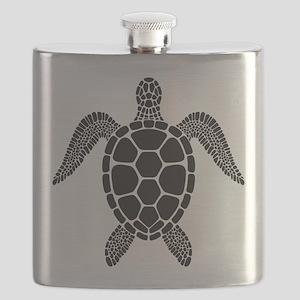 Black Turtle Flask