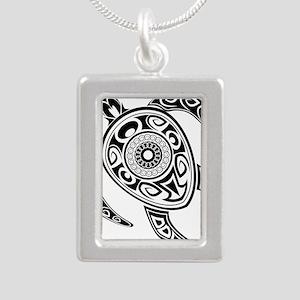 Black Hawaiian Turtle-2 Necklaces