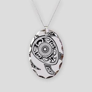 Black Hawaiian Turtle-2 Necklace