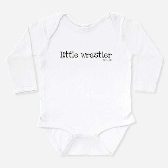 little wrestler Body Suit