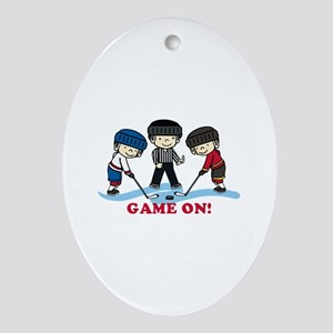 Game On Ornament (Oval)