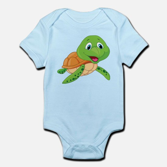Baby Green Turtle-6 Body Suit