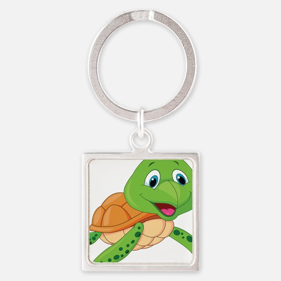 Baby Green Turtle-6 Keychains
