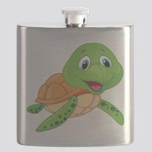 Baby Green Turtle-6 Flask