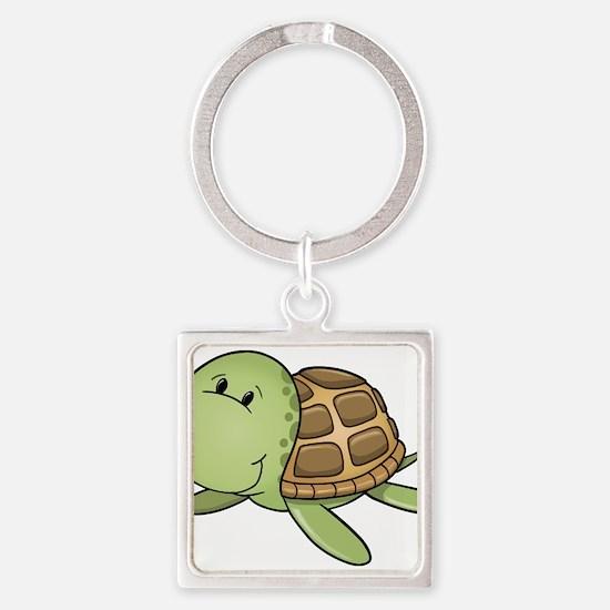 Cartoon Turtle-2 Keychains