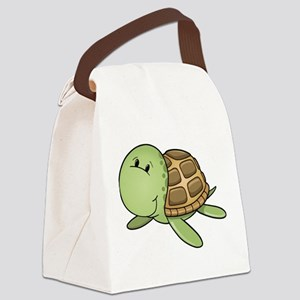 Cartoon Turtle-2 Canvas Lunch Bag