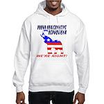 Proud Conservative Republican Hooded Sweatshirt