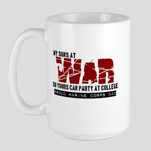 Son's at war Large Mug