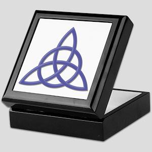 Blessed Be Purple Keepsake Box