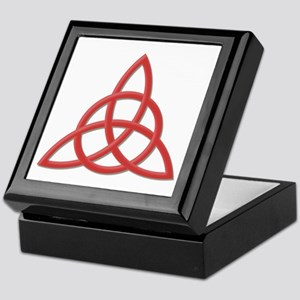 Blessed Be Red Keepsake Box