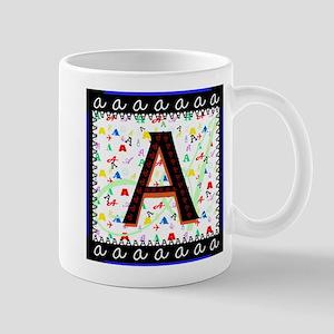 Monogram A Mugs
