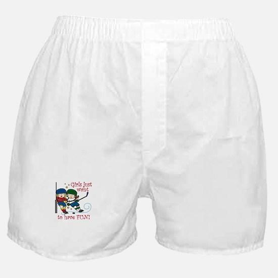 Have Fun Boxer Shorts