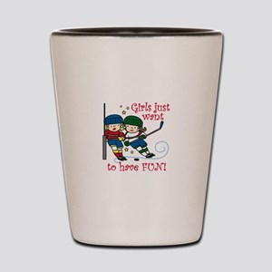 Have Fun Shot Glass