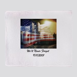 Remembering 9 11 a Throw Blanket