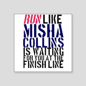 Run Misha Sticker