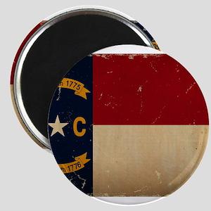 North Carolina State Flag VINTAGE Magnets