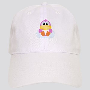 Pink Ducky On Cloud Cap