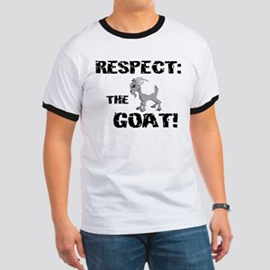 RESPECT the GOAT for Men Ringer T