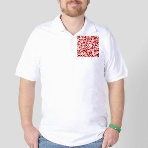 Heart 041 Golf Shirt