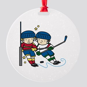 Hockey Boys Ornament