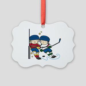 Hockey Boys Ornament