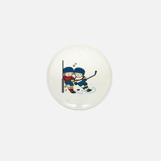 Hockey Boys Mini Button