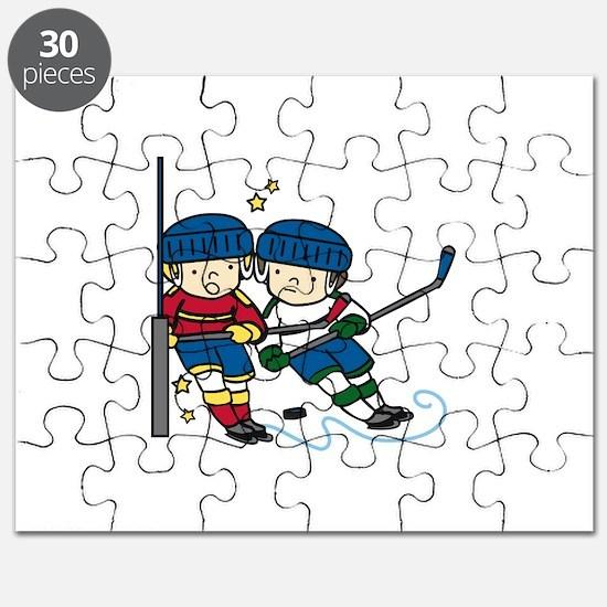 Hockey Boys Puzzle