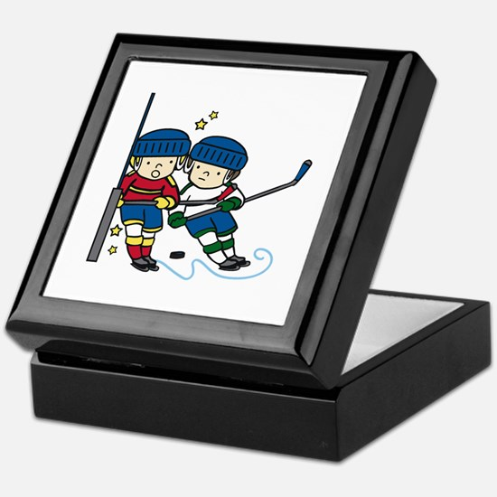 Hockey Boys Keepsake Box