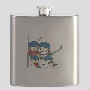 Hockey Boys Flask