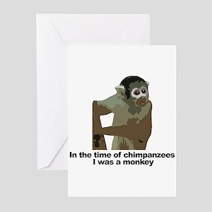 Monkey Around Town Greeting Cards (Pk of 10)