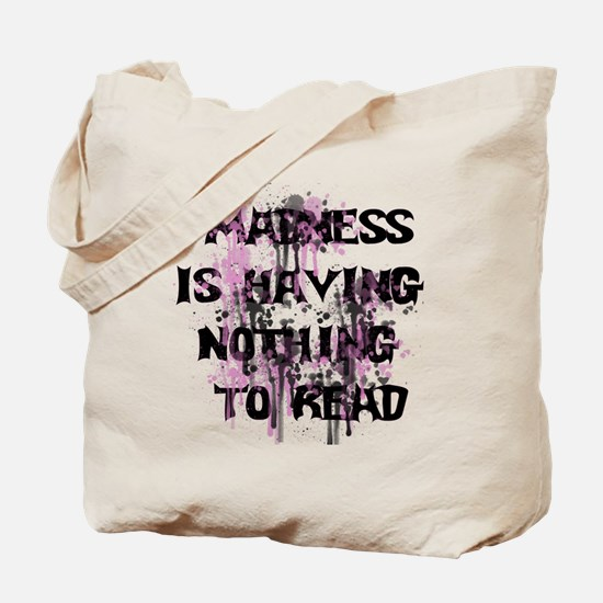 Reading Madness Tote Bag