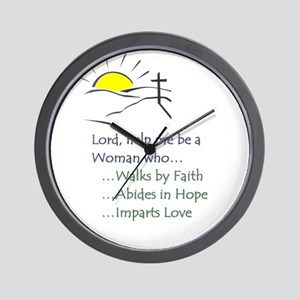 sunrise t-shirt Wall Clock