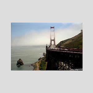 Golden Gate clouds Magnets