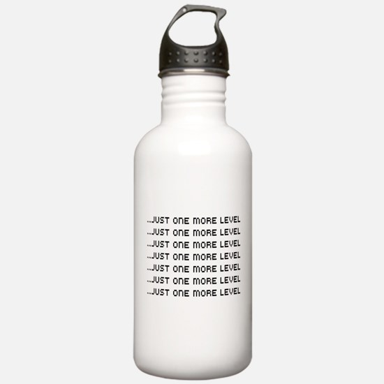 Just one more level Water Bottle
