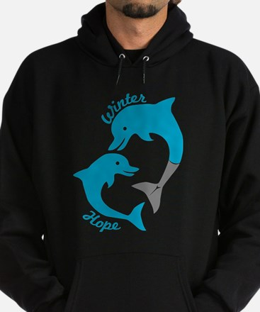 Winter And Hope Dolphin Tale 2 Hoodie