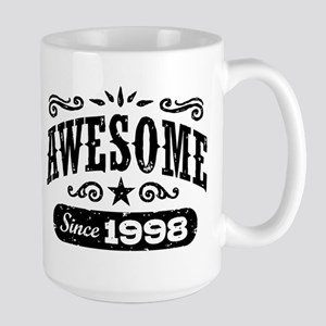 Awesome Since 1998 Large Mug