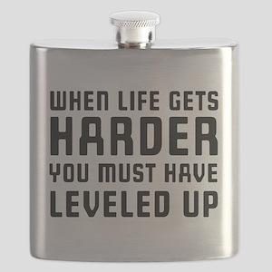 Life gets harder leveled up Flask