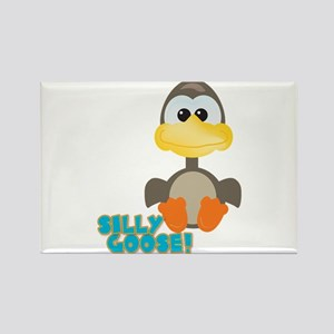 Goofkins Silly Silly Goose Rectangle Magnet