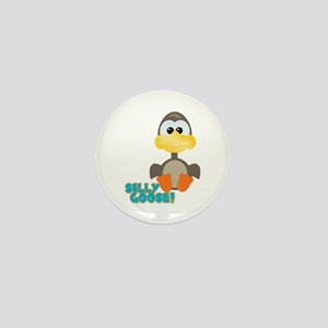 Goofkins Silly Silly Goose Mini Button