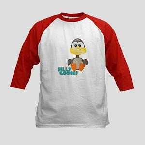 Goofkins Silly Silly Goose Kids Baseball Jersey