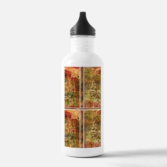 Crop circles Water Bottle