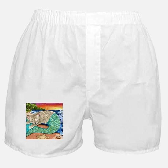 Cute Mermaids Boxer Shorts