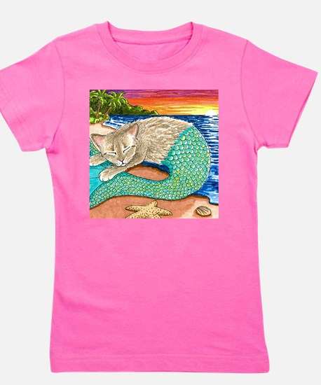 Cute Ocean art Girl's Tee