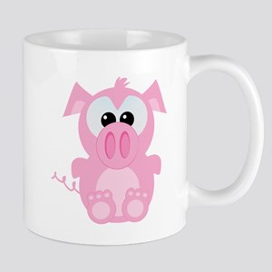 Goofkins Cute Little Piggy Mug